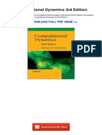 Computational Dynamics 3rd Edition 773565