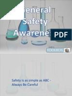 General Safety Awareness - Chem Lab