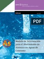 Modelo Abatimiento de Arsénico en Aguas de Consumo