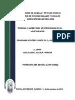 Programa de Intervención en Personas Mayores