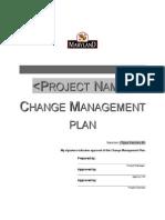 Change Management Plan