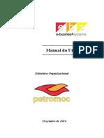 Manual de Utilizador - Estrutura Organizacional