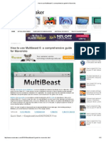 How to Use Multibeast 6_ a Comprehensive Guide for Mavericks