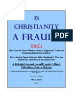 IS CHRISTIANITY A FRAUD? Part 2