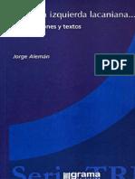 Aleman Jorge - Para Una Izquierda Lacaniana.pdf
