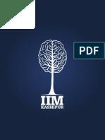 IIMK Institute Brochure 2013