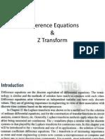 Difference Equatioasdasdns Z Transform