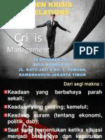 Manajemen Krisis PR
