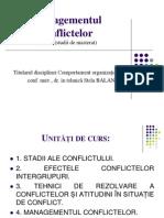 8. Managementul conflictelor