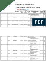 NCC 2015 Enrollment