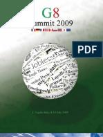 2009 G8 summit magazine