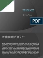 c++ free tutorial