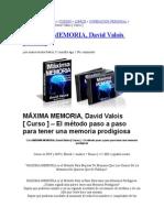 Maxima Memoria