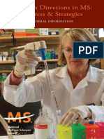 Brochure Research Directions in Multiple Sclerosis