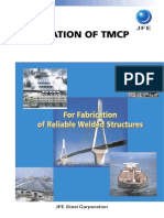 TMCP Structural Steels Weldability