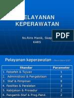 Standar Pelayanan KeperawatanvAkreditasi Revisi Maret 2007