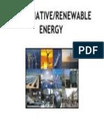 alternativerenewable energy