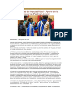 Aporte de Pastoral Juvenil Uruguay