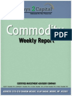Commodity Report by Ways2Capital 29 Dec 2014
