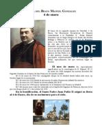 Beato Manuel González. Fiesta 4 de Enero