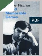 Fischer 60 memorable games