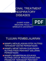 Nutritional Treatment of Respiratory Diseases