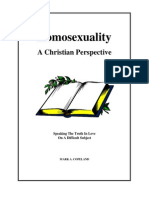 Homosexuality a Christian Perspective by Homophobe Mark Copeland