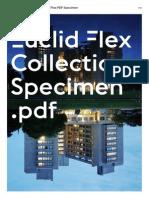 Euclid Flex Specimen