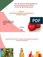 UNIVERSITATEA DE STIINTE AGRONOMICE SI MEDICINA VETERINARA BUCURESTI 1.ppt