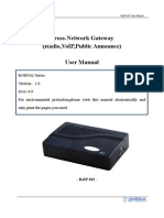 User Manual Roip102