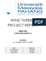 Wind Turbine Project Report