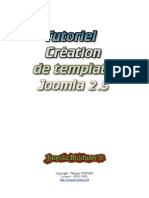 Creation de Template Joomla 2.5 - V 1.0