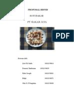 Proposal Bisnis Rotkar