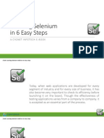 eBook Learning Selenium in 6 Easy Steps
