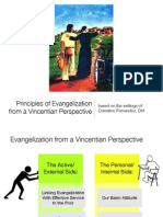 Principles of Evangelization from a Vincentian Perspective