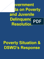 Poverty Situation and DSWD Response