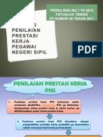 Bahan Skp 2013 _pp n Juknis Penilaian Prestasi Kerja Pns