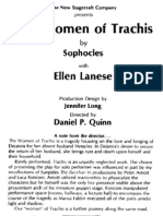 Daniel P Quinn staged  THE WOMEN OF TRACHIS now on DVD