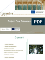 CelluWood Project Presentation Outcomes