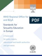 WHO BZgA Standards