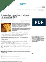 Migliori Panettoni Di Milano _ Classifica 2014, Le Pasticcerie