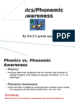 Phonics/Phonemic Awareness