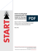 Understanding Risk CommunicationTheory