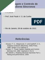 Modelagem e Controle Do Gerador Sincrono(1)