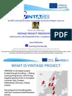 Vintage Presentation at LINQ Conference 2013