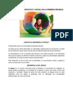El Desarrollo Afectivo y Social en La Primera Infancia (Autoguardado)