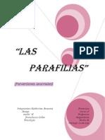 Las Parafilias..