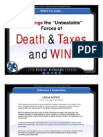 How to Cheat Death and Taxes