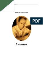 Sholojov (Nobel)- Cuentos