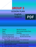 Lesson Plan (Group 3)